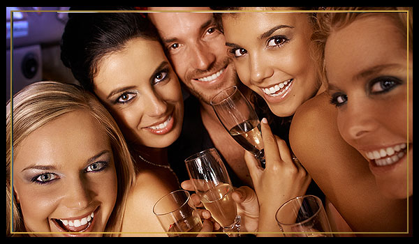 Bachelor & Bachelorette Party Limos