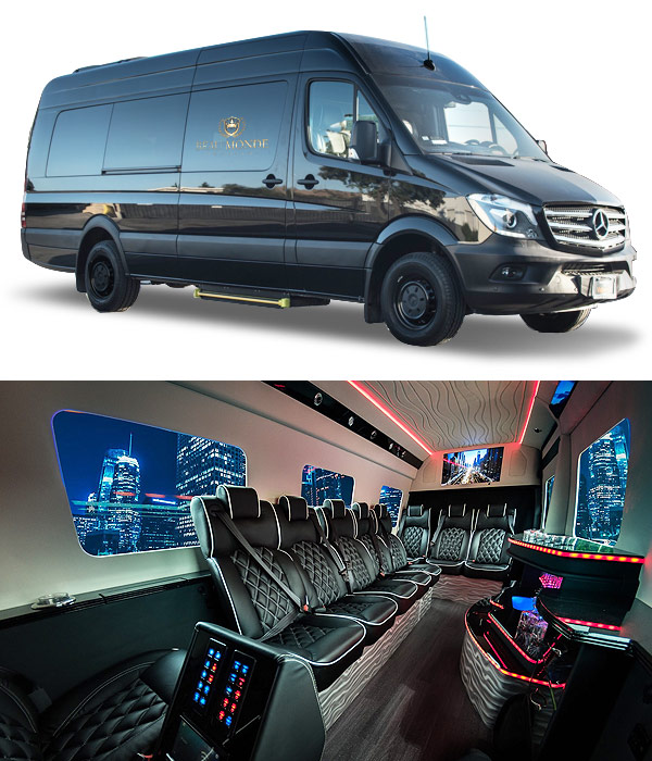 Portland OR Luxury Sprinter Limo Coach